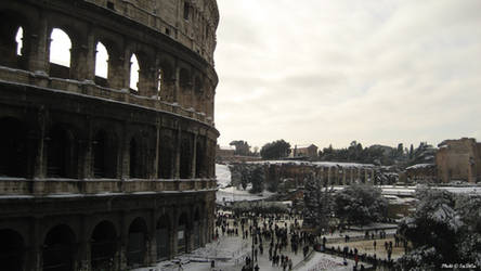 Colosseo Innevato II