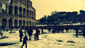 Colosseo e Romani