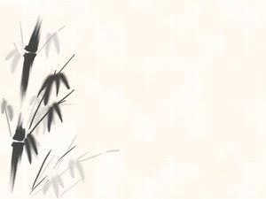 Sumi-e Bamboo Wallpaper