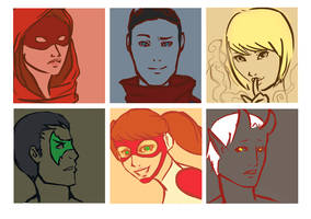 New Young Justice by HellyKitten