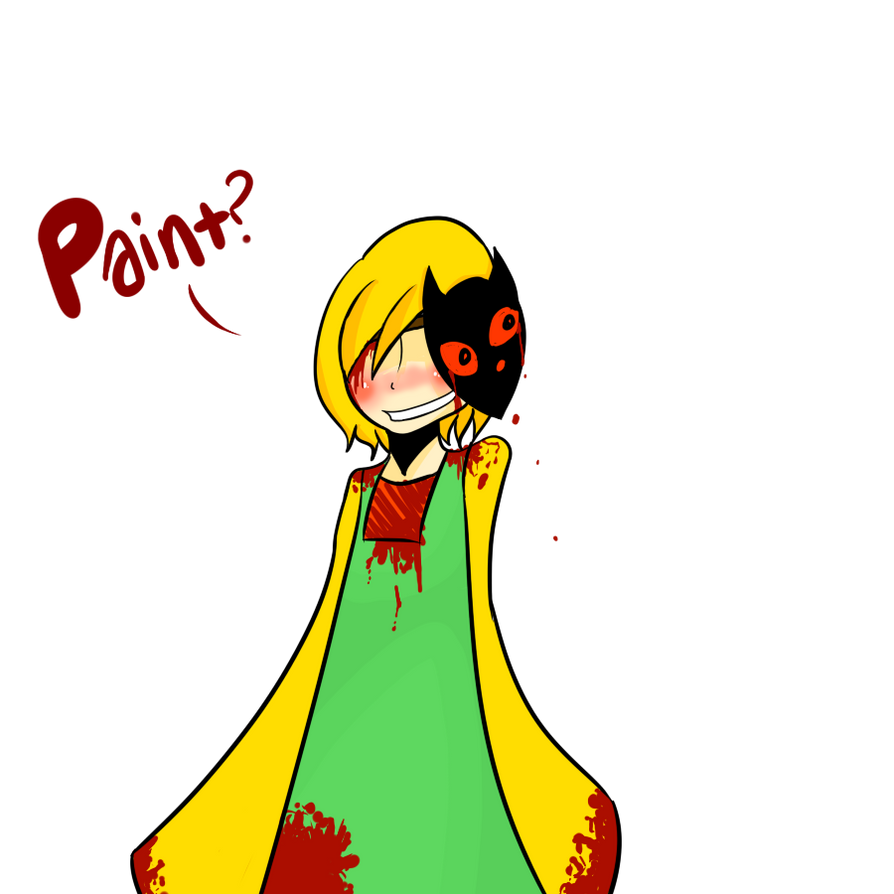 stories about red paint by LunaGame