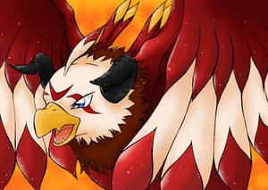 Eagle of Fire - Aquilamon