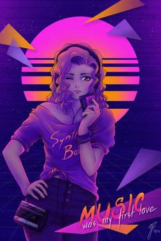 Walkman girl