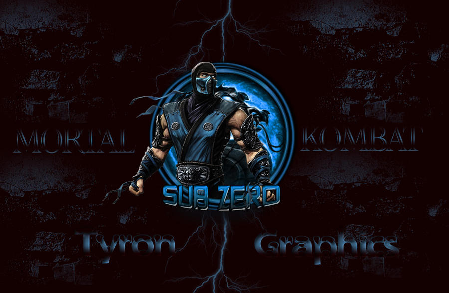 Sub Zero From Mortal Kombat Wallpaper By Mademyown