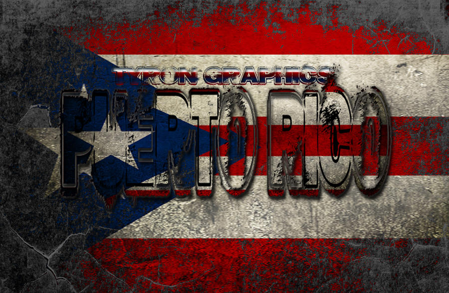 Puerto Rico Flag Texture By Mademyown