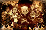 The Boondocks Texture Background