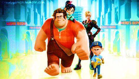 Wreck It Ralph: Main Cast. by JJonasluvr1054
