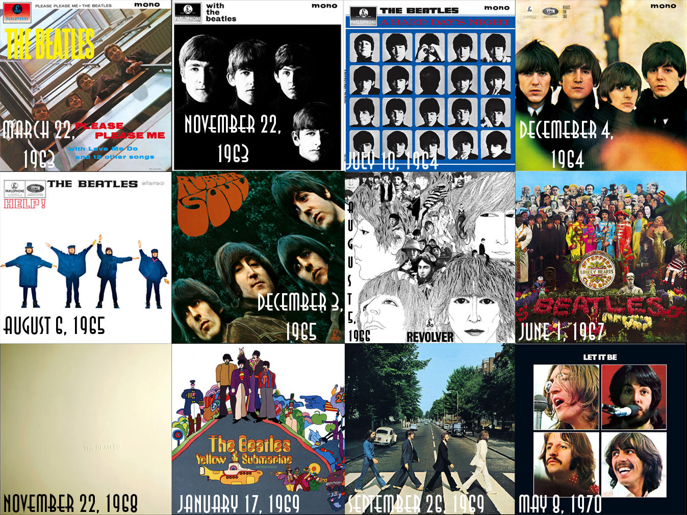 Syd Barrett Photo Gallery also Iconic Rock Album Covers moreover Syd Barrett Photo Gallery further The Beatles Collage Taylan Soyturk in addition Iconic Rock Album Covers. on album art beatles abbey road