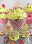 Passion fruit cupcakes