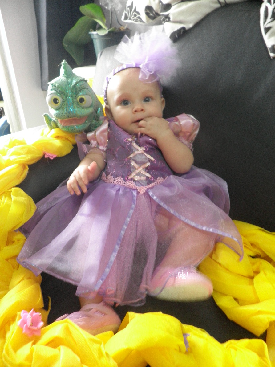 My Baby Princess Rapunzel Disney S Tangled By Yunekris On Deviantart