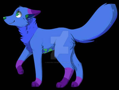starla_in_wolf_coyote_form_by_aquawaterg