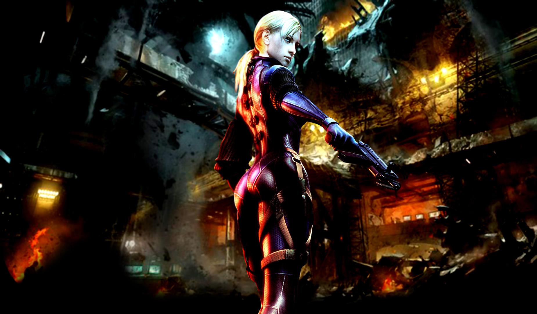 Jill Valentine On Resident Evil 6 By Sniram On Deviantart