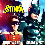 Batman 60's Adam West on new suit