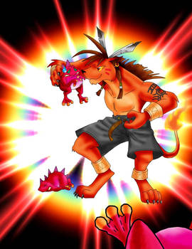 Anthro Red XIII