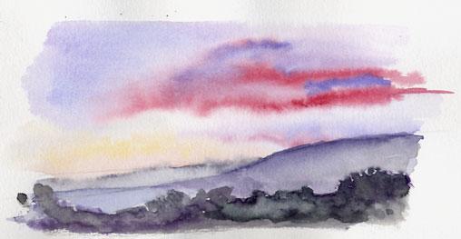 Sunset in Goolwa