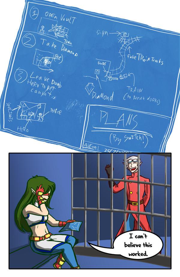 AVCon 2009 Booklet Comic