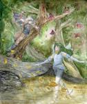 Watercolour Woods by Alecat