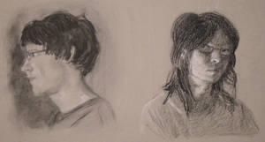 Portraits by Alecat