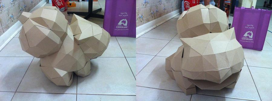 Papercraft Bulbasaur by Alecat