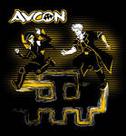 AVCon 2012 Gold Pass T-Shirt Design