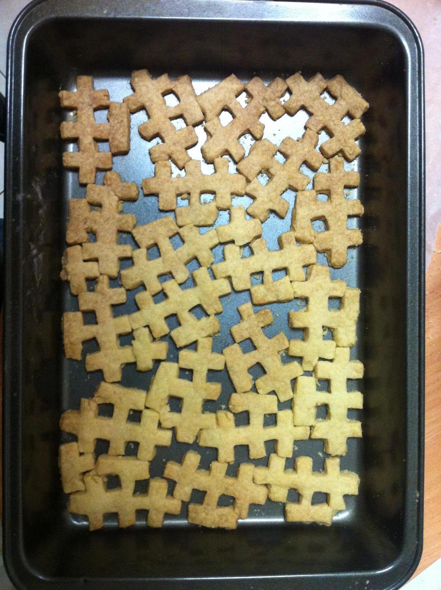 Invader Cookies