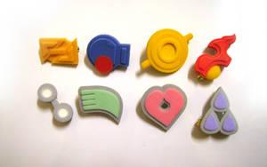 Pokemon Badges - Hoenn by Alecat