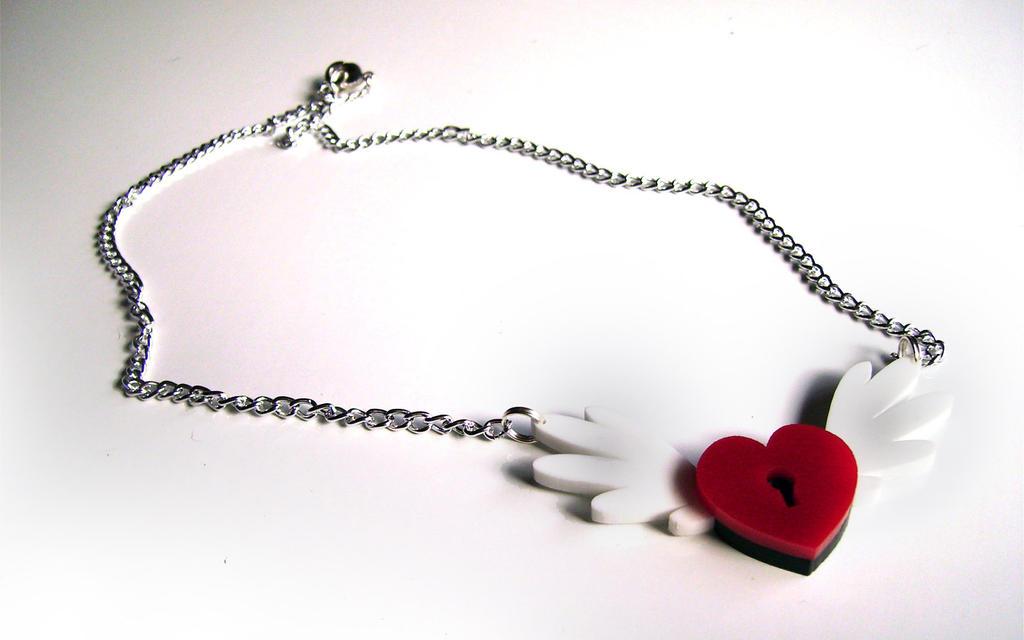 Locked Heart Pendant