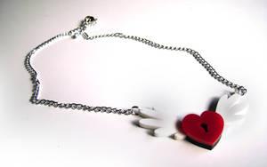 Locked Heart Pendant by Alecat