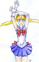 Sailor Moon by Alecat