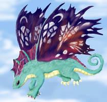 Faerie Dragon by Alecat