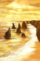 The Twelve Apostles by Alecat