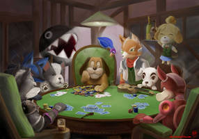 Smashed With Four Aces by Alecat