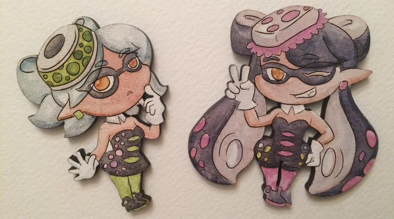 Callie and Marie Charms by Alecat