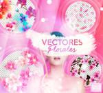 + VECTORES FLORALES!