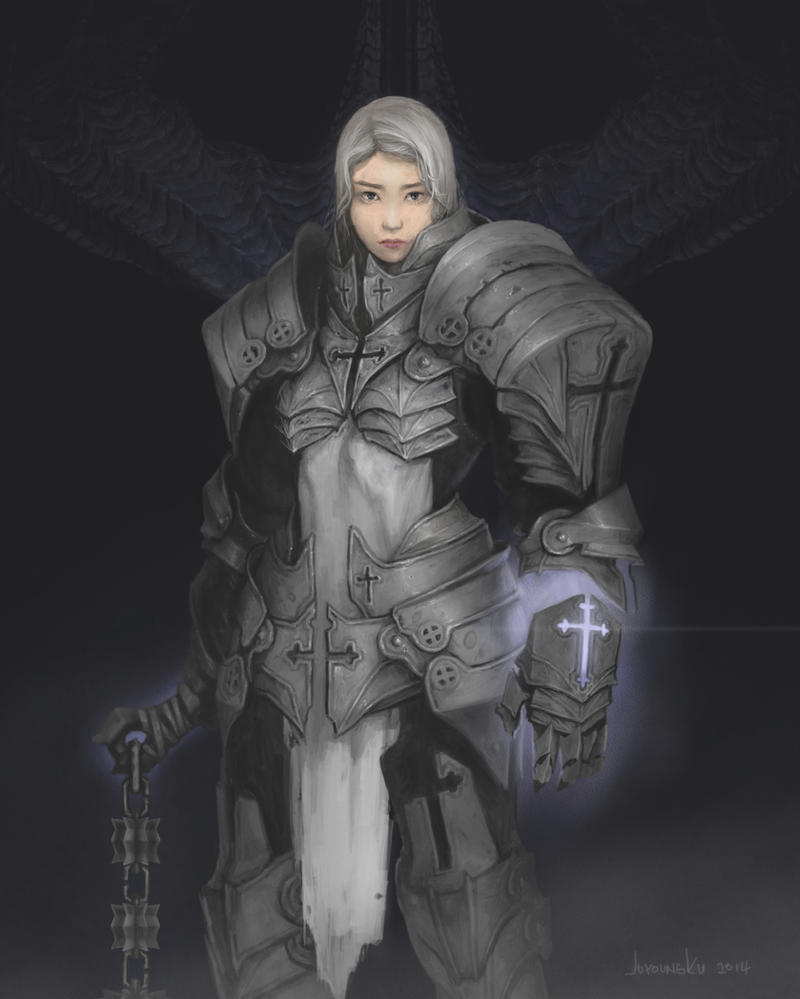diablo 3 reaper of souls crusader class by juyoungku
