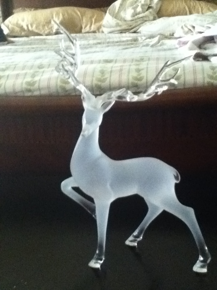 Glass Elk Sculpture by XtremeTakeoff