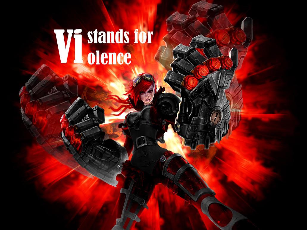 Badass Vi Skin - League of Legends by Fimbulknight
