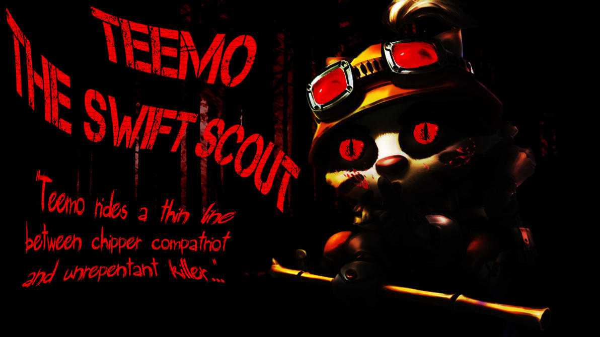 Evil Teemo is EVIL by Fimbulknight