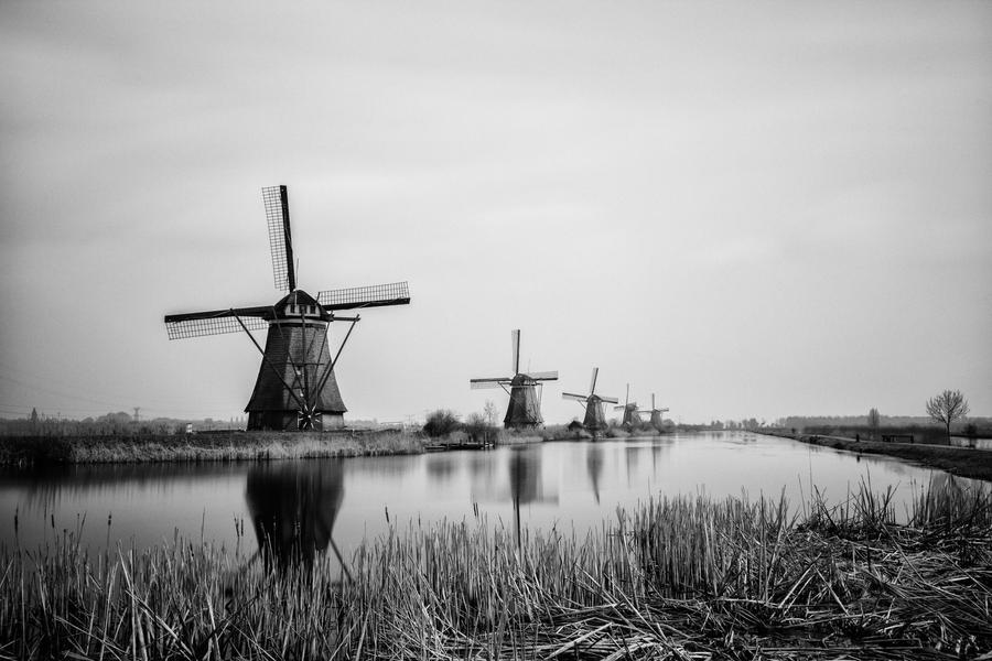 Kinderdijk by insolitus85