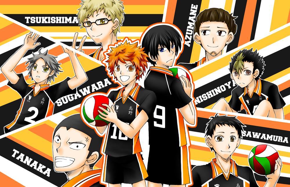 HQ - Karasuno Poster by gumokohiiragizawa