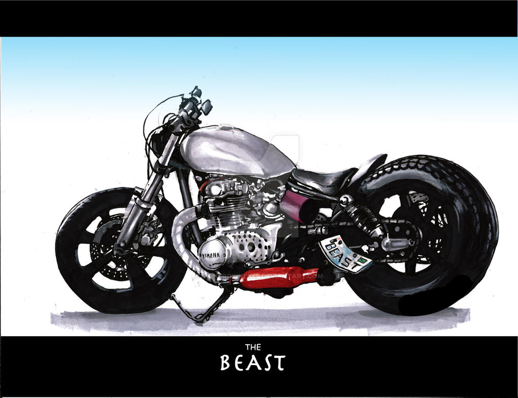 Beast by lionbrowneyes