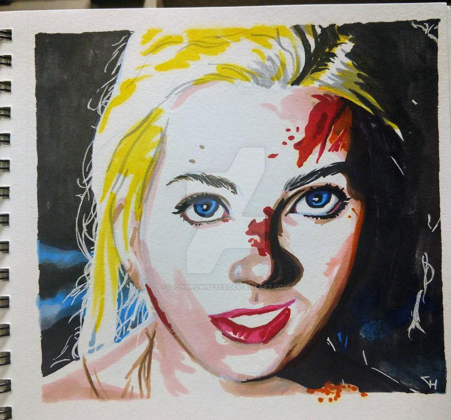 blonde by lionbrowneyes