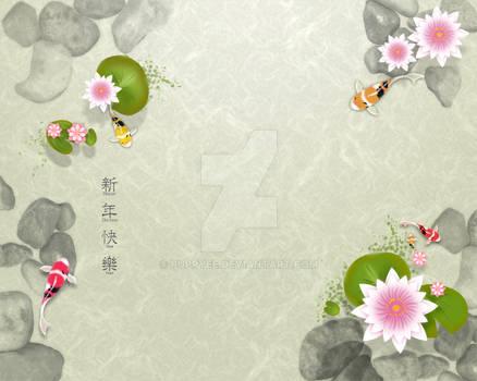 Chinese New Year Koi E-card