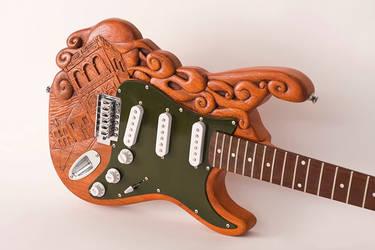 Custimized guitar