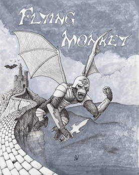 AlphaBeasts Week VI: F is for Flying Monkey