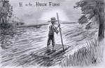 AlphaBooks Week VIII - H is for Huck Finn