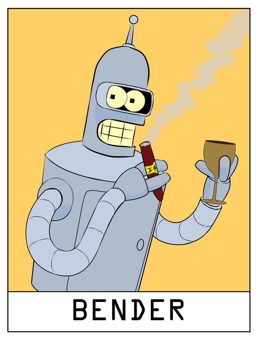 AlphaBots Week II : B is for Bender