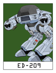 AlphaBots Week V: E is for ED-209 by SamWolk