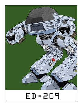 AlphaBots Week V: E is for ED-209