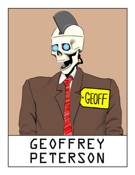 AlphaBots Week VII: G is for Geoffrey Peterson